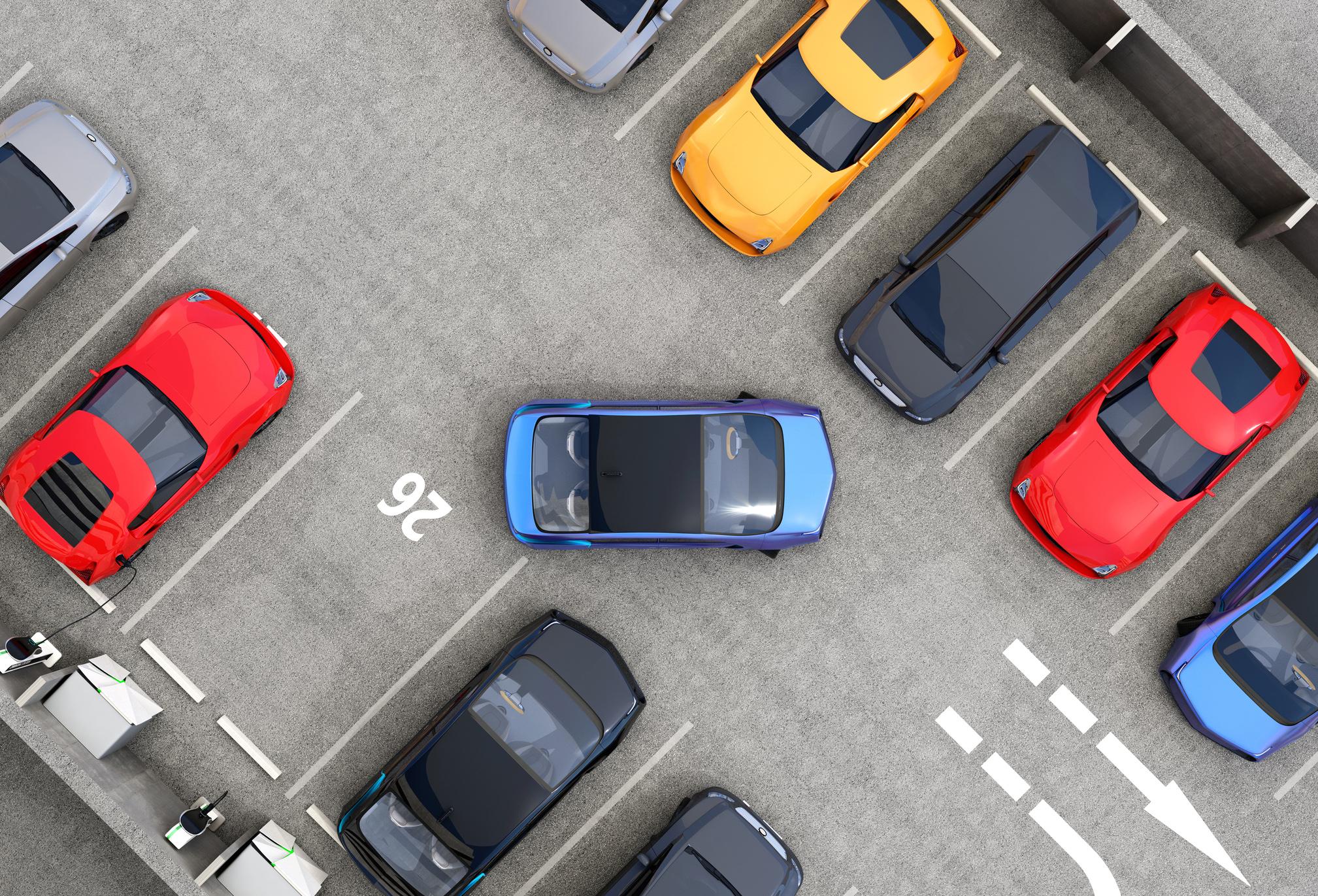 Como asegurar los aparcamiento de los centros comerciales